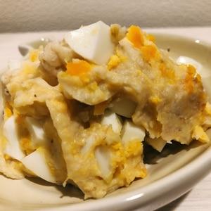 なめらか★卵とひき肉の大人なポテトサラダ