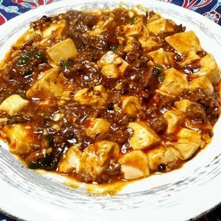 【中華】コク旨!濃い味‼ピリ辛好きの麻婆豆腐