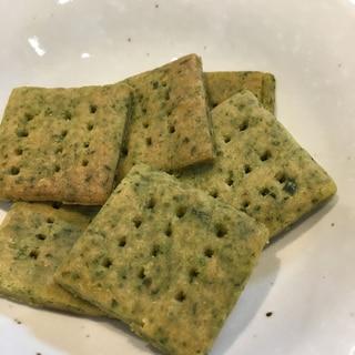 ほうれん草入り米粉クッキー