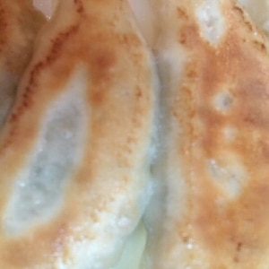 ジューシー☆キャベツの焼き餃子