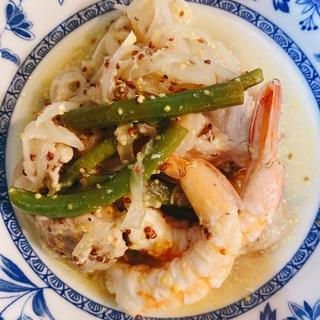セネガル風 鶏肉料理 チキンヤッサ