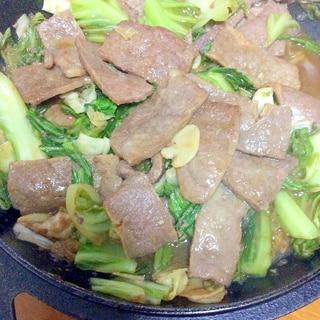 味付き牛肉キャベツ炒め