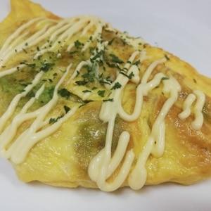 アボカドとトマトのチーズオムレツ(おかずの星)