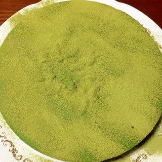 凍らせて食べて!濃い緑茶の生チョコタルト♡