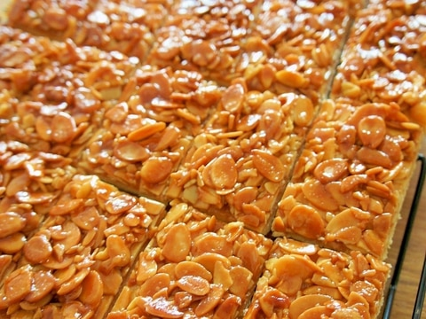 ギフトに最適☆お菓子屋さんのフロランタンクッキー