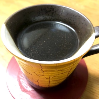 温活♪シナモン黒糖コーヒー