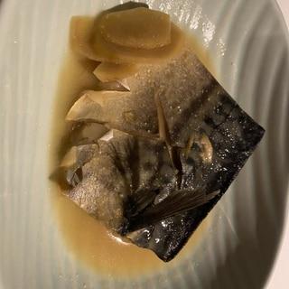 圧力鍋 さばの味噌煮