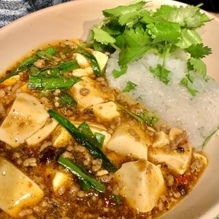 一風変わったオリエンタルな麻婆豆腐