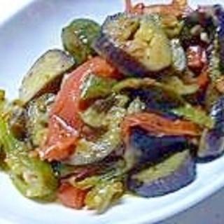 夏野菜のごった煮・・・和風ラタトゥユ