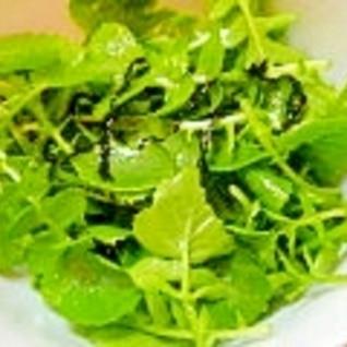 簡単♪葉大根サラダ