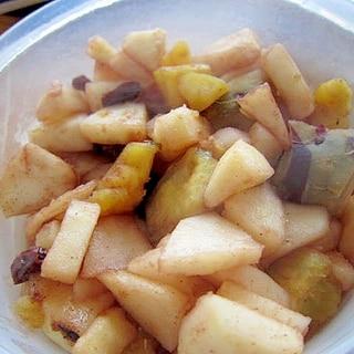 林檎薩摩芋南瓜レーズン焼き
