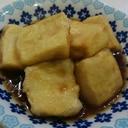 ☆高野豆腐で☆揚げ出し豆腐