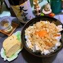 お豆腐なむる丼