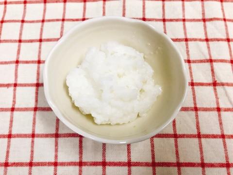 【離乳食後期】炊飯器で作る!軟飯