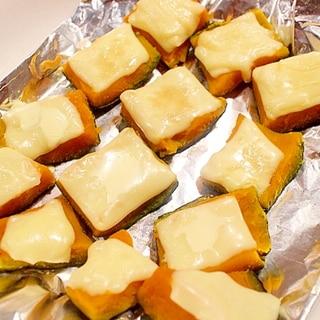 カボチャの皮を使って、4種の味のチーズパンプキン