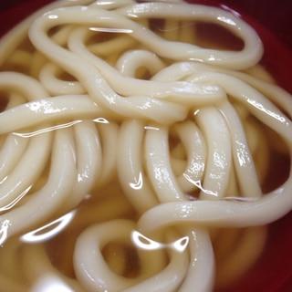 シンプル♪シンプル♪麺つゆ素うどん☻