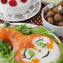 バースデ-メニュー☆ドキンちゃん押し寿司。