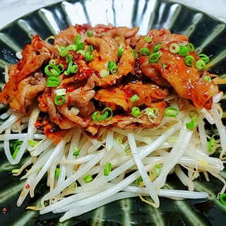 豚肉の花椒辣醤炒め
