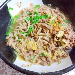 プルコギビーフ☆肉そば