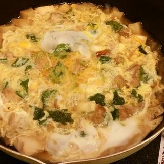 鶏もも1枚で4人分!フライパン1つで作る 親子丼