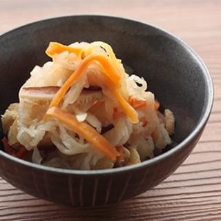 乾燥野菜を使って簡単!切干大根煮