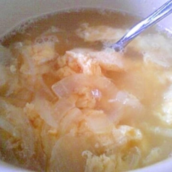 """勿体無い!あまった""""玉子豆腐のタレ""""で簡単スープ"""