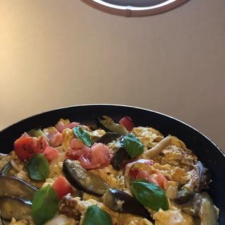 すぐ出来一品、夏野菜のオムレツ