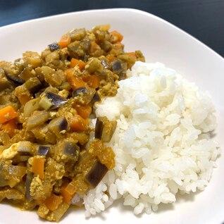 豆腐でカロリーオフ♪キーマカレー