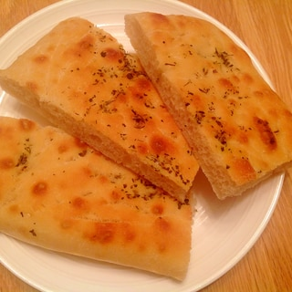 低温発酵で簡単美味しいハーブのフォカッチャ