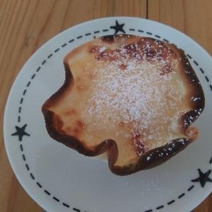 オーブントースターde餃子の皮のチーズケーキタルト