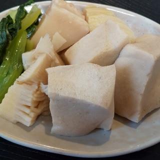 【和食】高野豆腐とたけのこの煮物♪