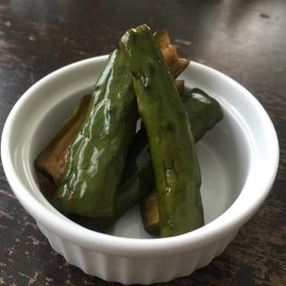 きゅうりの酢醤油漬け