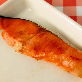 鮭のバター醤油焼き