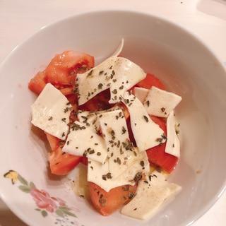 モッツァレラなし!簡単⭐カプレーゼ風サラダ