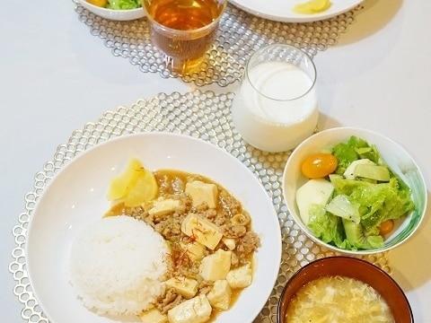 ♪麻婆豆腐&麻婆茄子♪