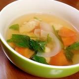 ささみと野菜の和風スープ