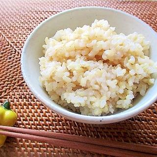 浸水なし!玄米の炊き方(炊飯器使用)