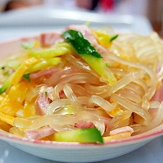 くずきり中華サラダ
