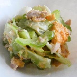 デリシャスゴーヤ(サラダゴーヤ・ライム)のサラダ
