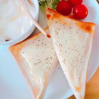 マヨチーズトースト♥