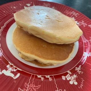 ベーキングパウダーなし!米粉のフワフワパンケーキ