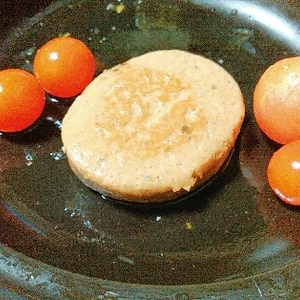 いわし缶アレンジハンバーグ