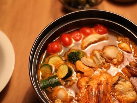 魚のアラから作る☆ブイヤベース