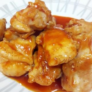 焼き肉のタレで(^^)鶏もも肉のチキンチョップ♪