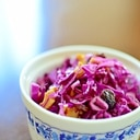 紫キャベツとナッツのデリ風サラダ