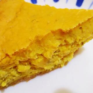 かぼちゃの煮物をアレンジ! パンプキンチーズケーキ