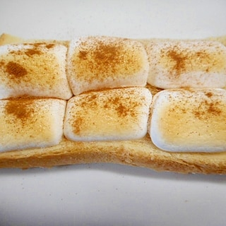おやつに★マシュマロトースト★