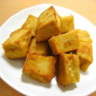 体にもお財布にも優しい高野豆腐の唐揚げ