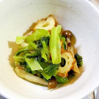 小松菜とちくわの甘辛煮