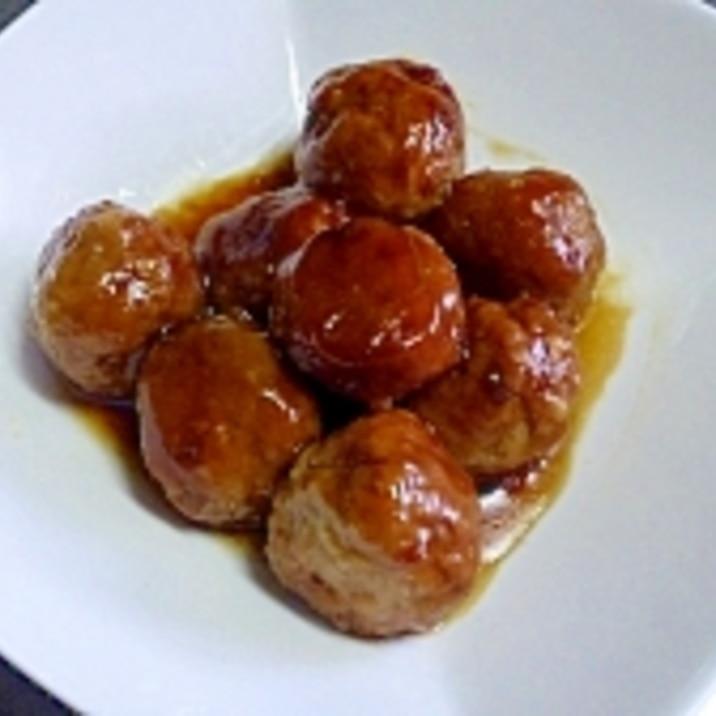 ☆おいしい甘酢あんの肉団子☆